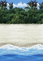 Decorado de Playa Fondos para Photocall - 15,2m