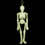 PRECIO OFERTA HALLOWEEN, DTO. NO ACUMULABLE. Decor. Esqueleto Colg. Fluorescente 39cm