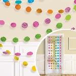 Cuerdas brillantes multicolore para decorar-2,1m