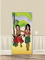 Poster para Puerta Foto Hawaiana - Decoración Hawaiana
