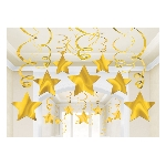 Decoración espirales colgantes decorativos - 60cm