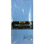 Mantel de plástico azul claro-1,4m x 2,8m