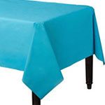 Mantel de plástico turquesa- 1,4m x 2,8m