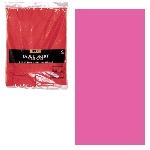 Falda para mesa de plástico rosa fucsia-73cm x 4.2m