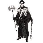 PRECIO OFERTA HALLOWEEN, DTO. NO ACUMULABLE. Guardián de la Cripta - Disfraz de Esqueleto de Halloween Plus Size