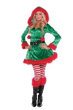 Duende Pícara - Disfraz de Navidad para mujer - Adulto 6-8