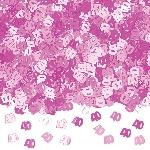 Confeti Papel Picado Rosa Mesa / Invitaciones Cumpleaños 40