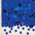 Confeti estrellas para Mesa / Invitaciones - Azul