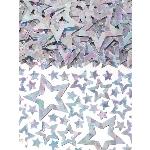 Confeti Estrella plateada para mesa/invitaciones