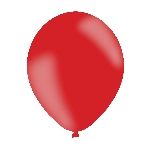 Globos Rojos - Látex 28cm