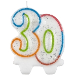 Vela Milestone Birthday 30th - 7.5cm