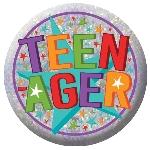 Chapa Holográfica Teenager - 5,5cm