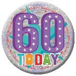 Insignia Grande Feñiz Cumpleaños 60 - 15cm