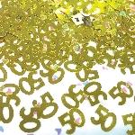 Confeti Metalizado Cumpleaños Aniversario 50 años - 14g