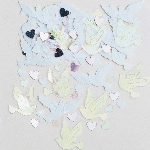 Confeti Wedding Doves Embossed Metallic 14g