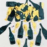 Confeti Cheers Black/Gold/Silver Metallic 14g