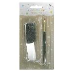 Maquillaje Snazaroo Applicator & Brush Set