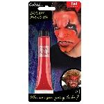 Tubo de maquillaje en crema color rojo - 28ml - Pintura para el rostro