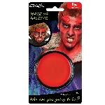 Tarro de pintura para el rostro color rojo - 14g