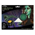 Kit de Maquillaje de bruja malvada - Pintura para el rostro