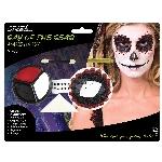 Kit de maquillaje de día de muertos - Pintura para el rostro