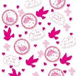 Confeti Sagrada Primera Comunión Rosa 14g