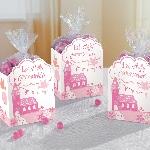 Cajas para Favores de Sagrada Primera Comunión Rosa