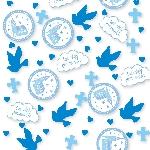 Confeti Sagrada Primera Comunión Azul 14g