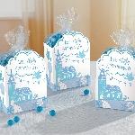 Cajas para Favores de Sagrada Primera Comunión Azul