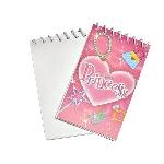 Mini Cuaderno Princesa