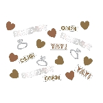 Confeti para Mesa / Invitaciones OMG Compromiso - 14g