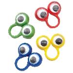Anillos con Ojos Googley - marionetas para dedos