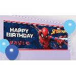 Banner Gigante personalizado de Spider Man - 1.2m