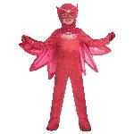 Disfraz de Buhíta PJ Masks Deluxe - 3-4 Años