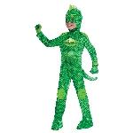 Disfraz de Gecko PJ Masks Deluxe - 7-8 Años