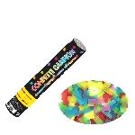 Confeti Multi Coloured Paper Cannons 24cm