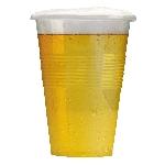 Vaso Plástico Transparente Medida Pinta - 580ml