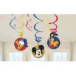 Decoracion Colgante Mickey Mouse Swirl Decorations