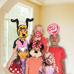 Photo Kit Minnie Mouse Photo Booth Kits