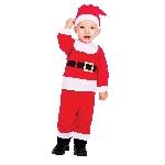 Disfraz Papá Noel - 3-6 meses