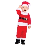 Disfraz Papá Noel - 6-12 meses