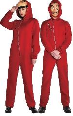 (Disponible en Abril) Disfraz Adulto La Casa De Papel Talla M