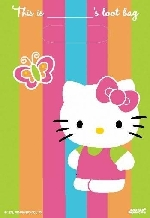 Bolsa chuches/juguetes (8) Hello Kitty (OFERTA)