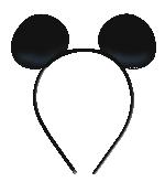 Diademas de cartón de Mickey Mouse