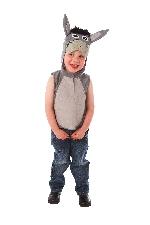 Burrito - Disfraz infantil para pastorela de Navidad - Niños 3-5