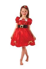 Disfraz niño Girls Miss Santa