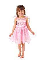 Hada copo de nieve rosa - Disfraz de Navidad para niñas - Niños 4-6