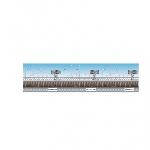 Decorado de pared Great Britain Scene Setters Stadium Border Rolls - 12m w x 45cm h