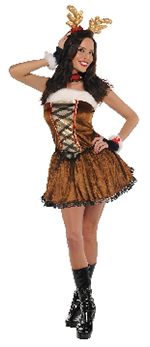 Señorita Vixen - Disfraz de reno navideño para mujer - Adulto 6-8