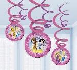 Brillantes adornos para colgar de Princesa Disney-remolinos para colgar